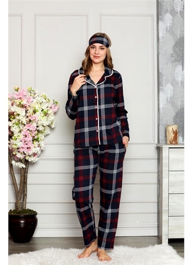 Nisanca Pijama Takım Lacivert